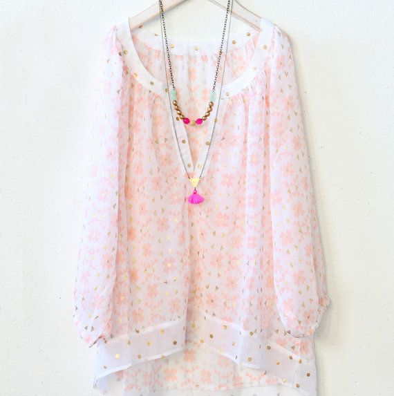 Long Double Strand Bead and Tassel by NestPrettyThingsShop on Etsy, $52.00