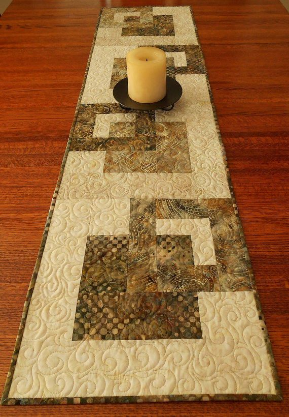 Pinterest Quilting Table Runners : Christmas Table Topper, Quilted Table from susiquilts on Etsy Tablerunner Pinterest Etsy ...