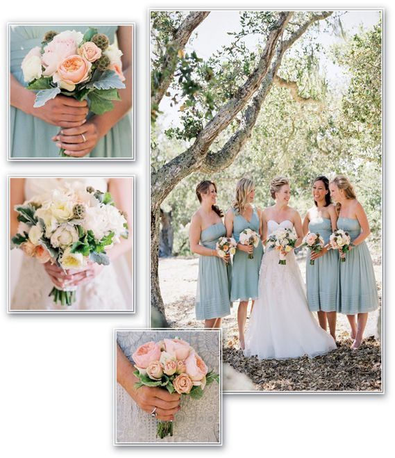 """Winner in the """"Best Bouquets"""" category of our Picture-Perfect Weddings contest. Congrats to Jenny McNeice, AIFD, of Jenny McNeice Flowers in Arroyo Grande, Calif."""