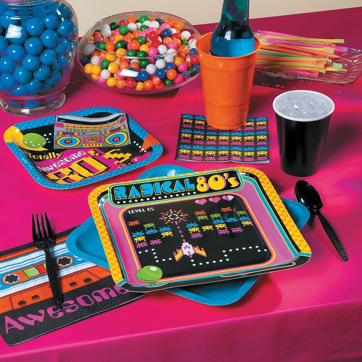 80s Party Supplies - OrientalTrading.com