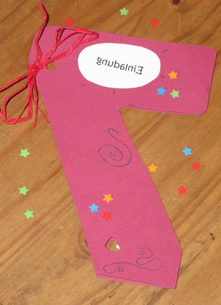 Kindergeburtstag Einladung Selber Basteln Http://stylehaare.info/83  Kindergeburtstag
