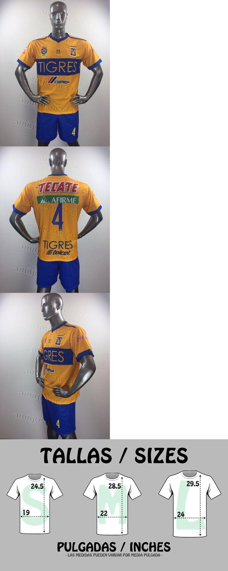 Men 123490: 15 Tigres Home (S M L) Soccer Uniforms - Uniformes De Futbol -> BUY IT NOW ONLY: $300 on eBay!