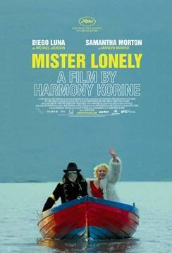 Directed by Harmony Korine.  With Diego Luna, Samantha Morton, Denis Lavant, James Fox. In Paris, a young American who works as a Michael Jackson lookalike meets Marilyn Monroe, who invites him to her commune in Scotland, where she lives with Charlie Chaplin and her daughter, Shirley Temple.