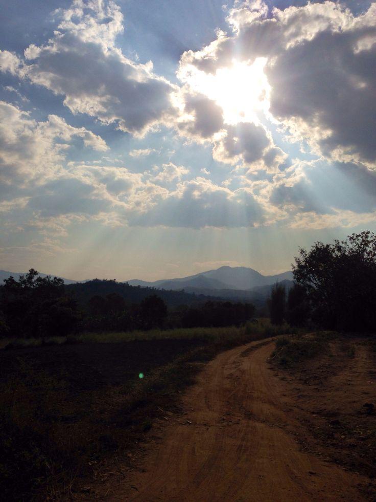 Above Pai, Thailand