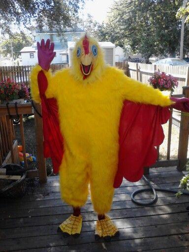 Chicken Nugget Halloween Costume Kids