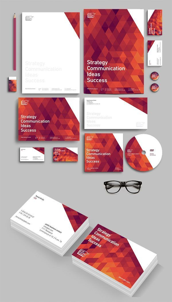 Graphic design: 25quality projects based on visual identities and branding | Blog du Webdesign