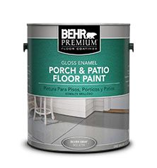 Are going Behr concrete stripper can