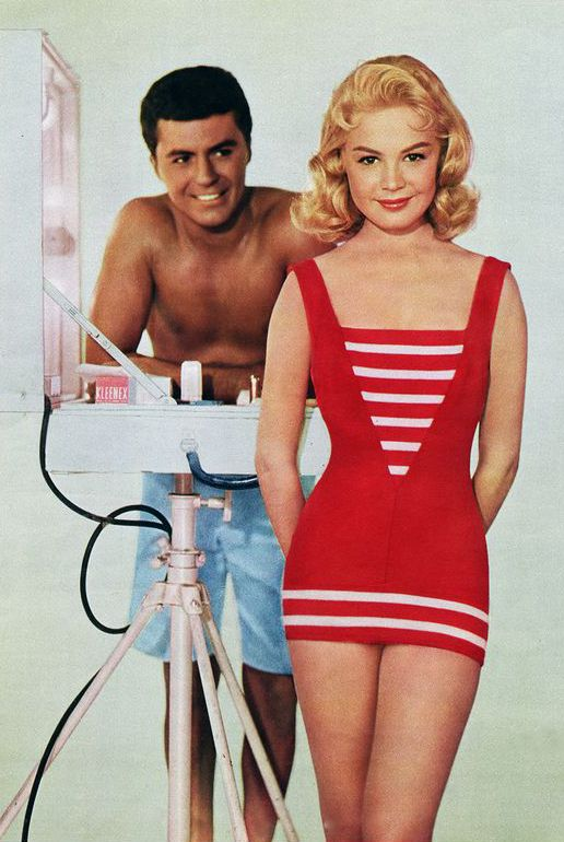 Sandra Dee and James Darren, Gidget 1959