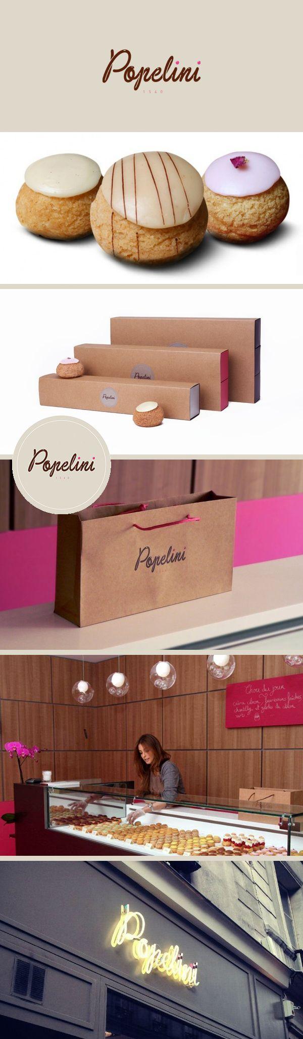 Les petits choux à la crème de Popelini /  Fondé par Lauren Koumetz & Alice Barday /29 rue Debbeleyme Paris III / du mar. au sam. de 11h à 19h30 +  dim. de 10h à 15h.