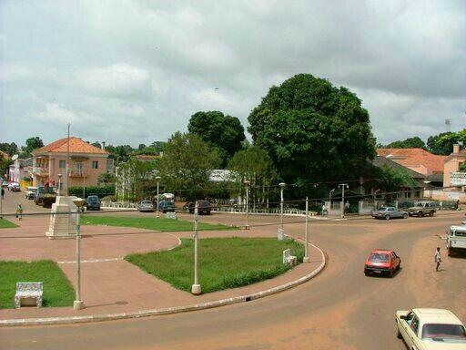 Che Guavara Square, Bissau, Capital of Guinea Bissau.