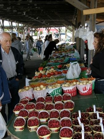 Tuesday is Market Day at Lachute Farmers Market in Quebec 5am - 5pm on Rte 148 or Main Street on the west side of Lachute http://www.farmersmarketonline.com/fm/LachuteFarmersMarket.html
