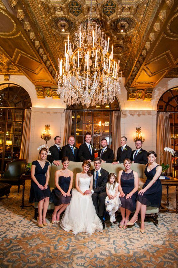 Elegant Wedding at The St. Regis Washington, D.C. (Photo by Robin Shotola Photography)