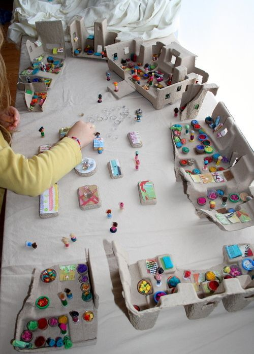 5 creative toys made from recycled materials recycled for Creative items from waste material