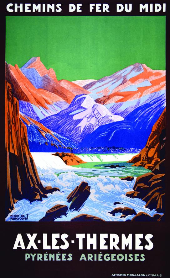 Les 89 meilleures images du tableau artprecium vintage posters sur pinterest - Axe les thermes office du tourisme ...