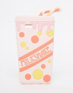 ASOS - Coque pour iPhone 6 à motif milkshake en plastique souple