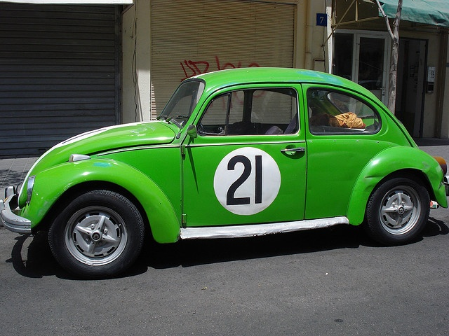 """vw bug in classic 70s color: """"Cliffgrün""""   VW Bugs & Beetles (Type 1)   Pinterest   Colors ..."""