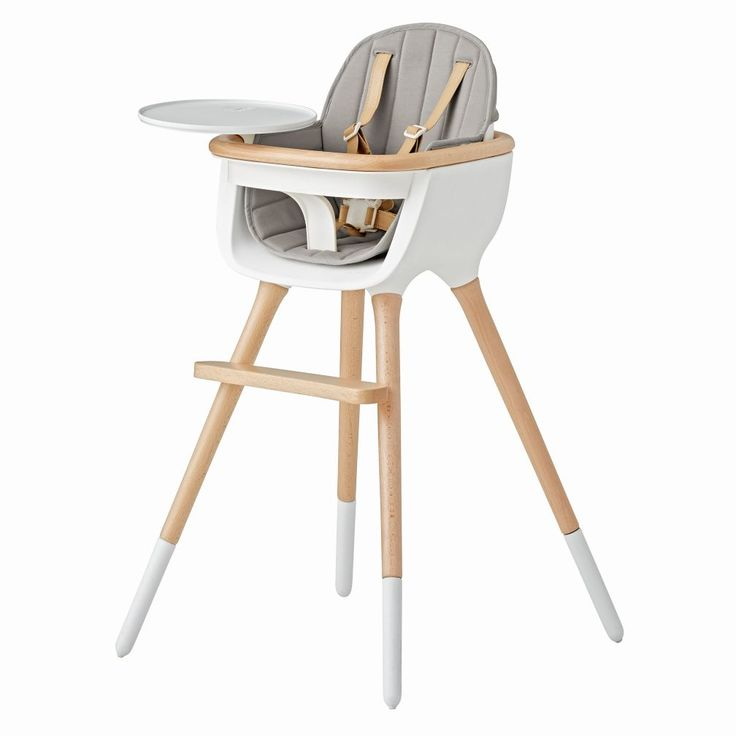 Grey Ovo High Chair Cover | The Land of Nod