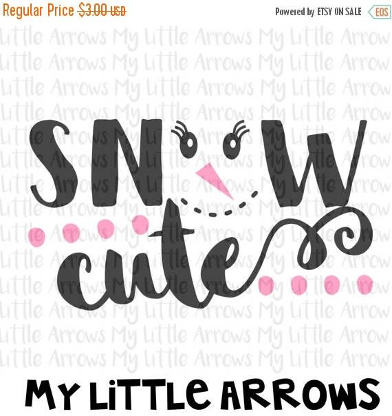 60% OFF SALE - Snow cute SVG, Dxf, Eps, png Files for Cutting Machines Cameo or Cricut - december svg - christmas svg-  funny holiday shirt by MyLittleArrows on Etsy https://www.etsy.com/listing/473767322/60-off-sale-snow-cute-svg-dxf-eps-png
