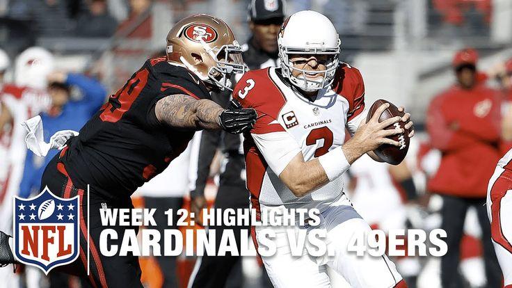 Cardinals vs. 49ers | Week 12 Highlights | NFL