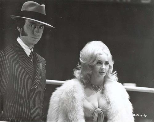 Mike Nesmith (The Monkees) with Carol Doda in a scene from Head