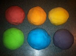 Kool-Aid Play Dough & Homemade Bath Crayons   Maggie Bags blog   Indoor Activities for Kids Part 1  @Terri Osborne McElwee Babin