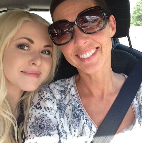 Happy mother and daughter on our way to Formex fair <3