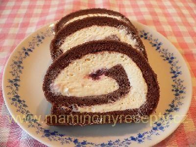 Roláda s bílou čokoládou