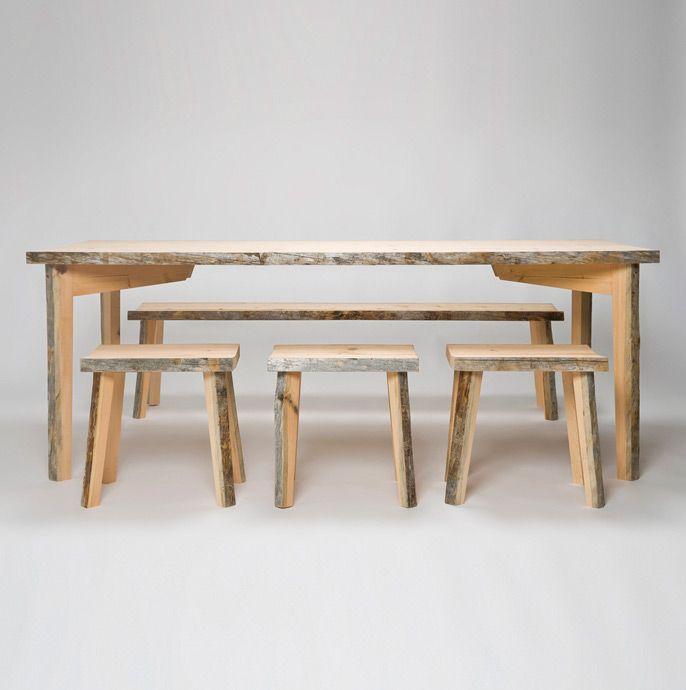 Uhtua Design: Kelo-pöytä