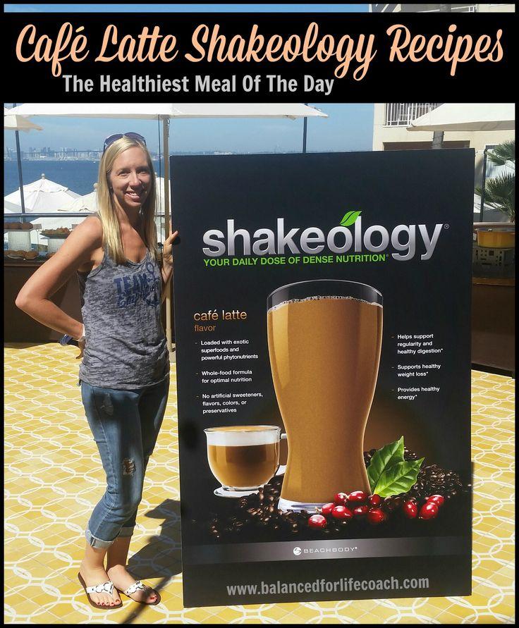 Café Latte Shakeology Recipes #Shakeology #Coffee #Starbucks #Nutrition #Shake #Smoothie #Recipes