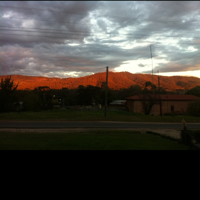 Tallarook Ranges at Sunset
