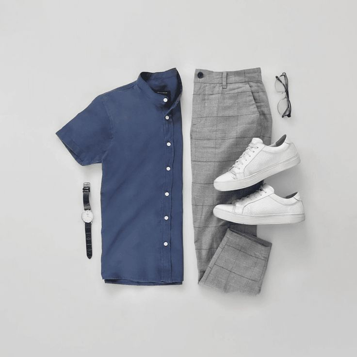 Men Casual Shirt Outfit 🖤 Very Attractive Casual Outfit Grid, Business Casual Men, Men Casual, Smart Casual Man, Casual Shirt, Smart Casual Menswear Summer, Smart Casual Outfit, Casual Blazer, Casual Winter, Casual Summer