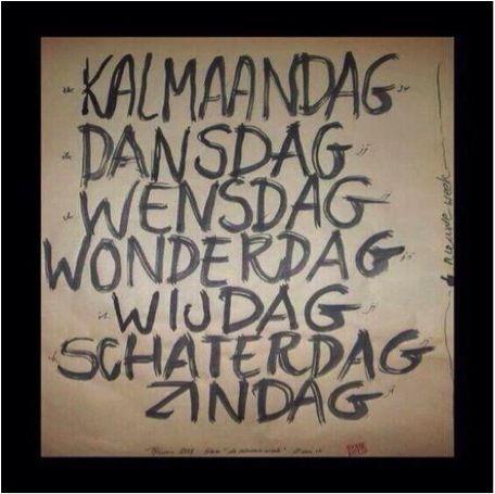 #textandquotes: de nieuwe dagen van de week - CoachSander.nl