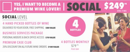 Direct Cellars is a premier wine club that delivers wine directly to your door every month. Get In, Get Wine, Get Social!