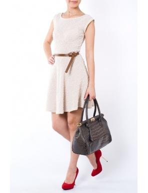 Rochie semiclos Crem  Brand: Yard