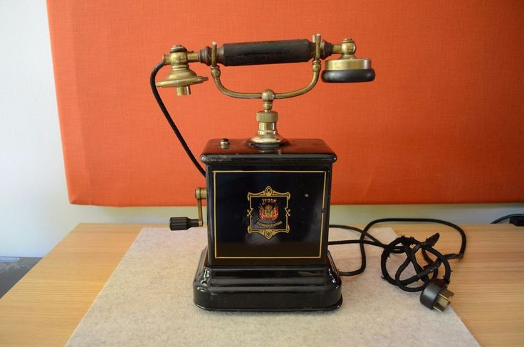 original antikes dänisches Tischtelefon JYDSK um 1910