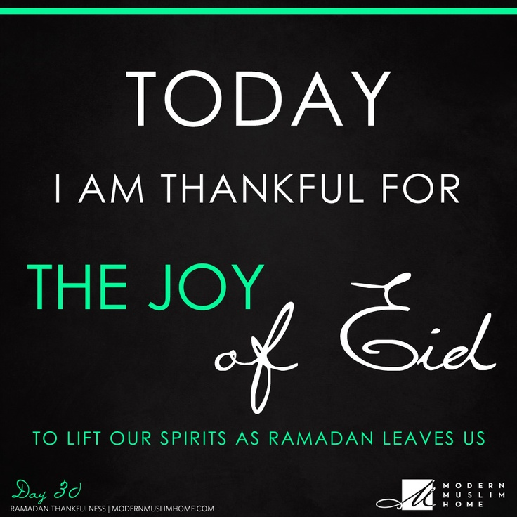 "We loved offering you this Ramadan Thankfulness Series, and while this might be our last post in the series, it doesn't mean the thankfulness stops here. We hope you've enjoyed these reminders as much as we have, and that you'll continue the tradition of counting your blessings daily throughout the year.    ""And remember that your Lord promised, 'If you are thankful, I will indeed give you more...'"" (Surah Ibrahim: 7)"