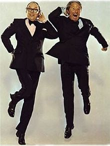 Loved the Morecambe and Wise shows. Two grown men sharing a bed and no one though anything bad about it. This is pure classic family humor.