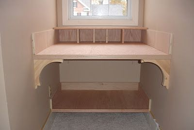 Custom built desk tutorial...The Yellow Cape Cod: 31 Days of Building Character: Nooks