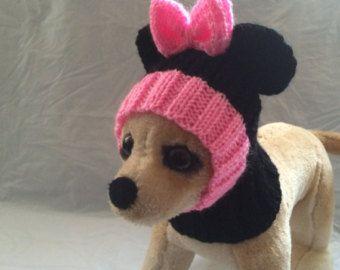 Ropa para mascotas ropa traje de invierno Crochet por 2CROWNS