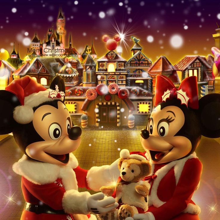 Disney Christmas IPad Wallpaper HD