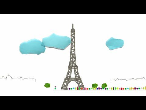 le monument : la Tour Eiffel - Karambolage - ARTE - YouTube