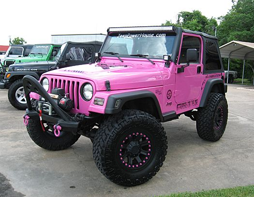March 1, 2015 ≈ ≈ No Comments ≈ Tags : Pink Jeep Wrangler ,