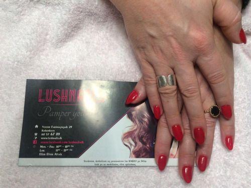 #cherry #red #gel #nails http://lushnails.dk #kirsebær #rød #gelenegle  #negle #neglelak #skønhed #skønhedstips #københavn #kbh #skøn #smuk