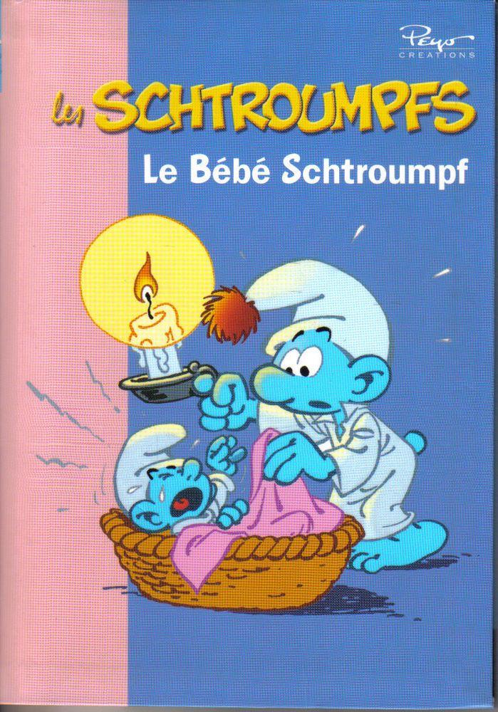 174 beste afbeeldingen van los pitufos smurfs les - Schtroumpf bebe ...