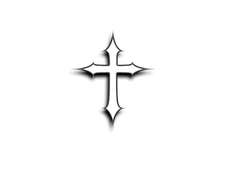 easy tattoos to draw | Free designs - Simple and small cross tattoo wallpaper