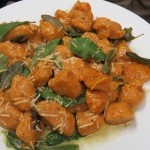 Wholly Guacamole: Sweet Potato Gnocchi with Sage Brown Butter Sauce Recipe #WhollyHungryChefs
