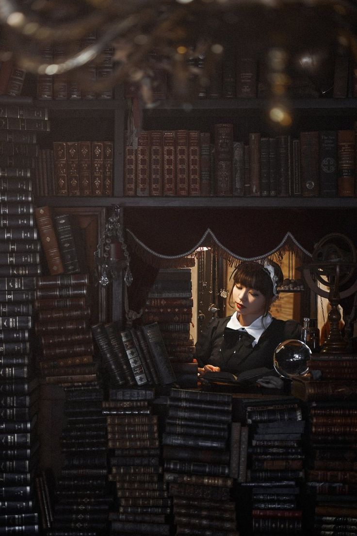 """""La biblioteca de Babel"" model: あんり LECURIO #photography"""
