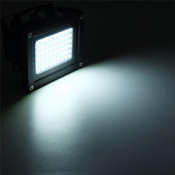 Solar Powered 54 LED Sensor Flood Light Waterproof Outdoor Security Lamp Sale - Banggood.com