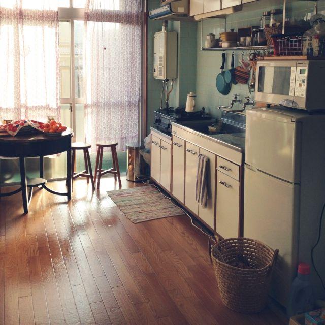 rakusanoukoさんの、キッチン,レトロ,一人暮らし,のお部屋写真