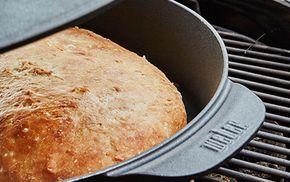 Langtidshævet brød, Webers grillopskrifter